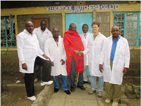 Rangeland Solutions and Keekonyokie Slaughterhouse management
